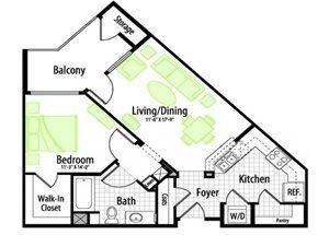 Stratus floor plan.