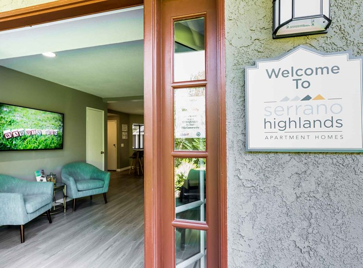 Serrano Highlands Apartments | Apartments in Lake Forest | Office
