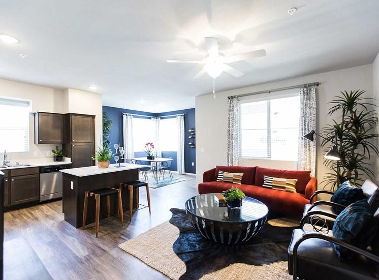Solana Apartments |Living