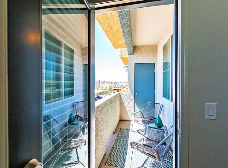 Solana Apartments |Patio Slider