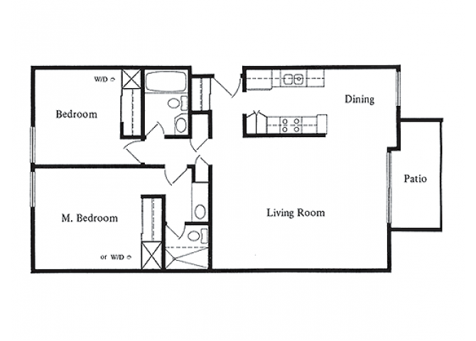 Alexander- RENOVATED floor plan.