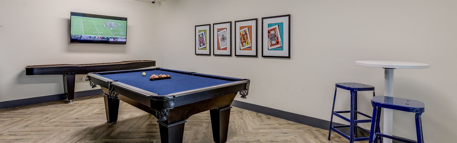 Southside by Vintage l pool table and game room