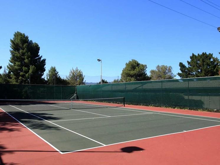 Tennis Court | Stoneridge Luxury Apartments in Walnut Creek, CA