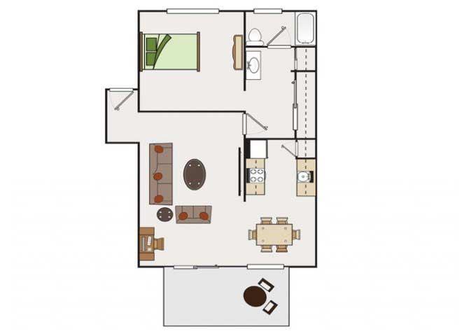 1x1 condos available at Stoneridge Luxury Apartments | Walnut Creek, CA