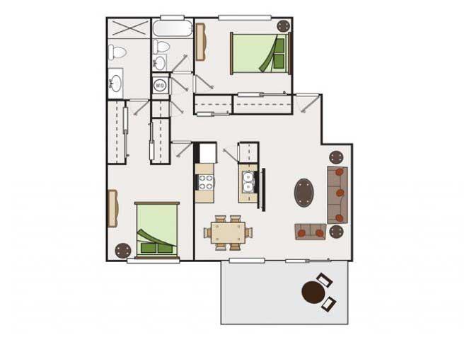 2x2 condos available at Stoneridge Luxury Apartments | Walnut Creek, CA