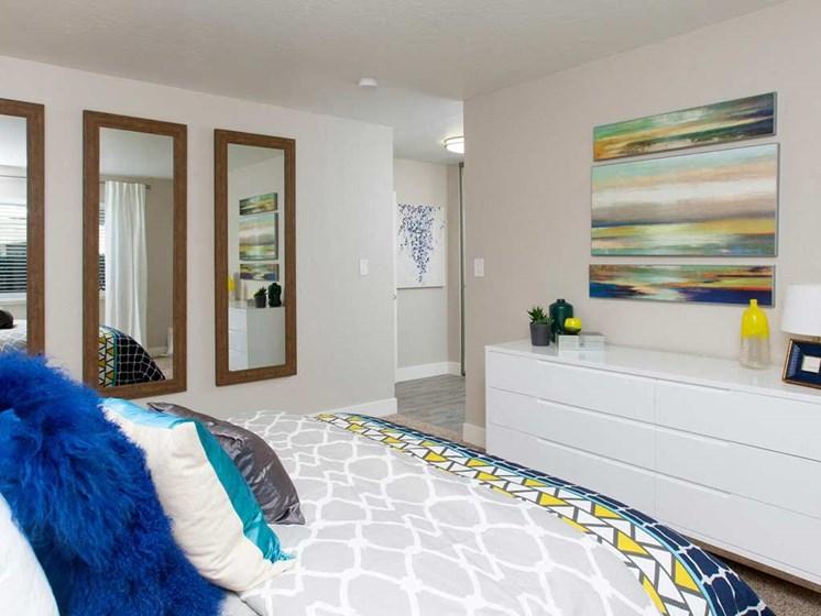 Bedroom  | Stoneridge Luxury Apartments in Walnut Creek, CA