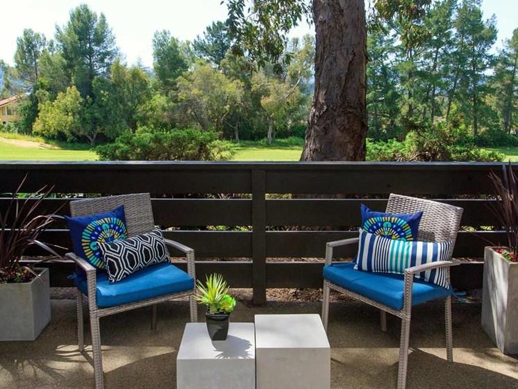 Private Balconies   | Stoneridge Luxury Apartments in Walnut Creek, CA