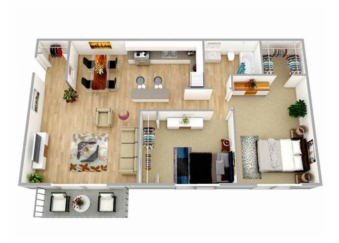 View Our Two Bedroom Apartments In Oceanside California