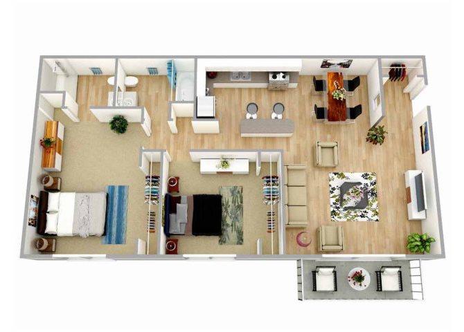 Monterey Floor Plan 2
