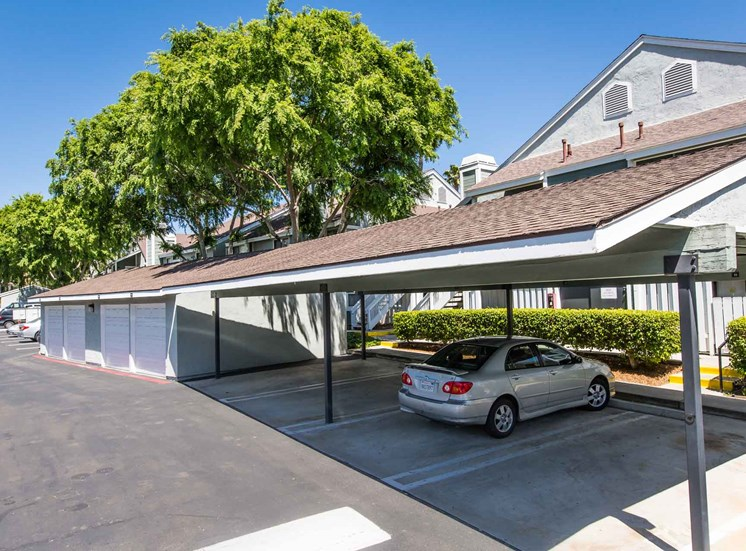 Covered Parking | Sycamore Greens Apartment Homes