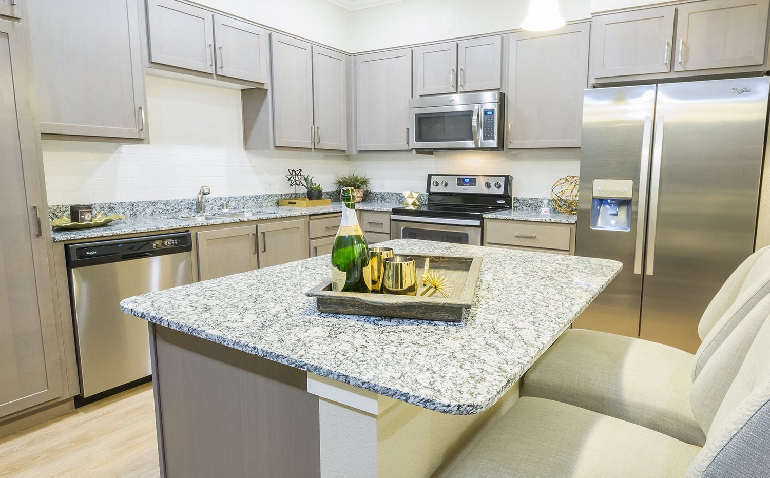 Spacious Kitchens at Verdant at Green Valley apartments