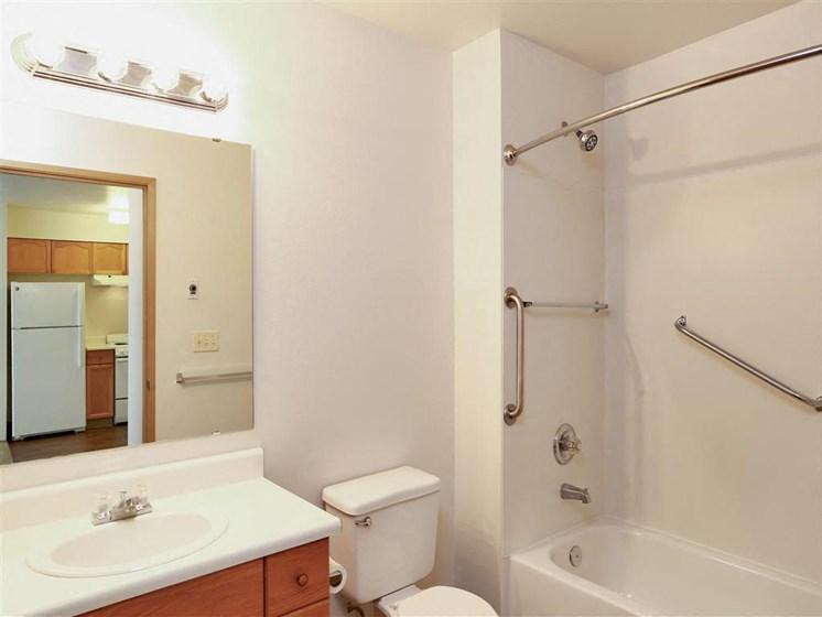 Bathroom | The Vintage at Arlington apts in Arlington, WA