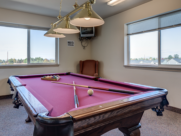 Vintage at Bend Billiard Room