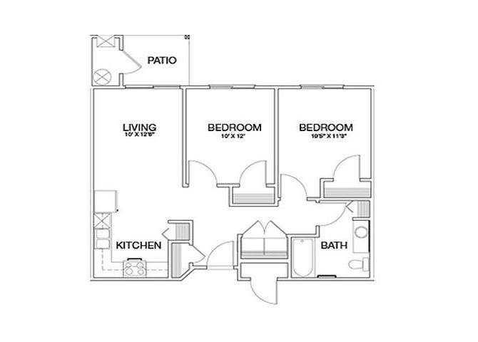 Joshua floor plan.