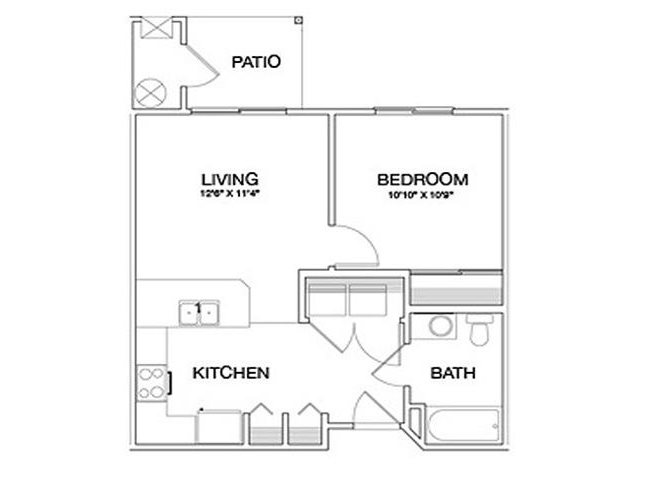 Saguaro floor plan.