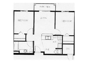 2X1 floor plan.