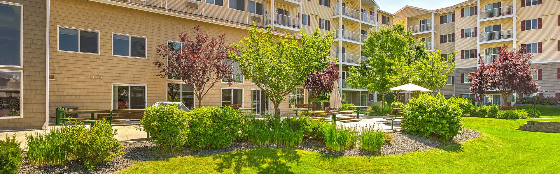 Community Building Vintage at Spokane Senior Apartments  l Spokane Washington Apts For Rent
