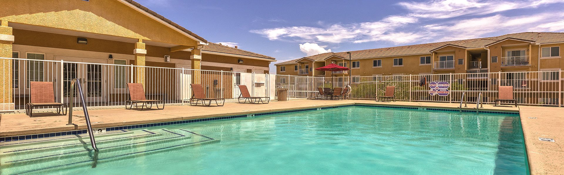 Pool with Lounge Chairs l Laughlin, NV 89029 l Vista Creek Apts for rent