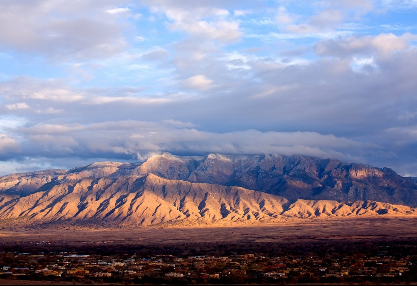 View of mountains and sky Whispering Sands Apartments in Albuquerque NM Rentals at 87123