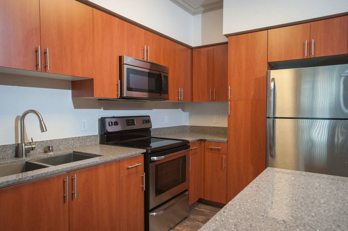 High-End Cabinetry at Beaumont Apartment Homes, Washington, 98072