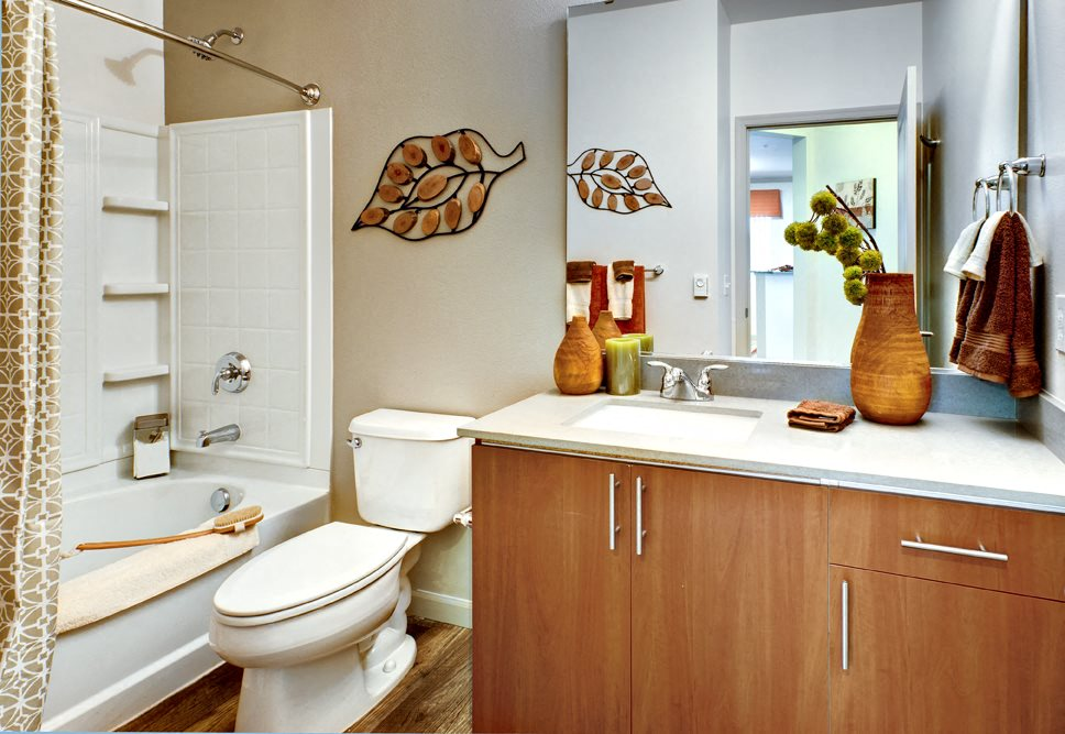 High-End Bathroom Fixtures at Beaumont Apartment Homes, Woodinville, 98072