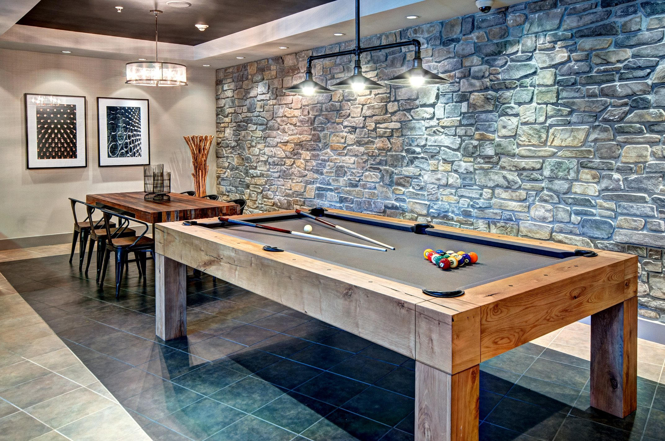 Pool Table at Beaumont Apartment Homes, 14001 NE 183rd Street, WA