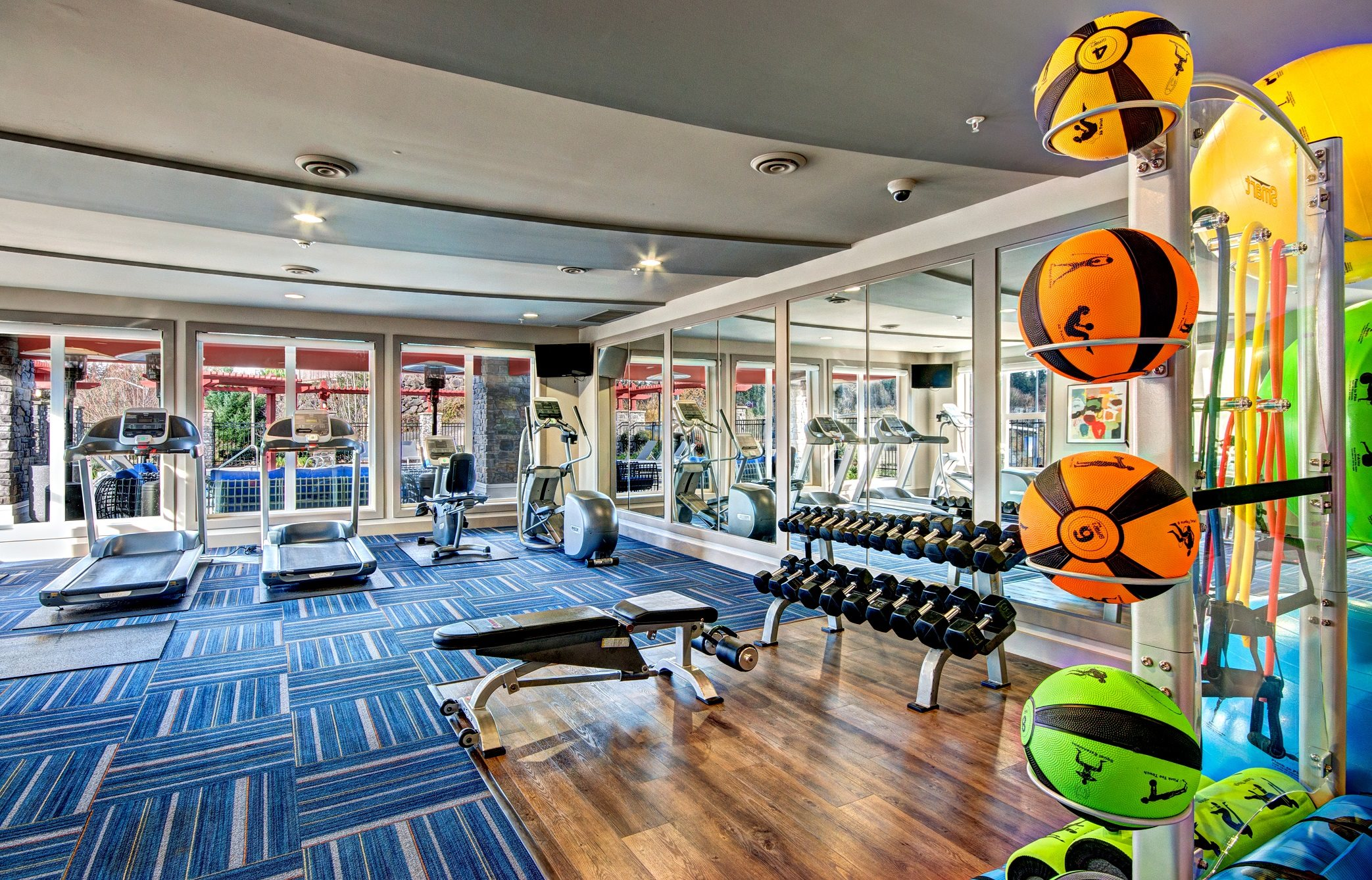 Fitness Center at Beaumont Apartment Homes, 14001 NE 183rd Street, WA