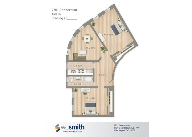 1049-square-foot-two-bedroom-apartment-floorplan-available-for-rent-2701-Connecticut-Avenue