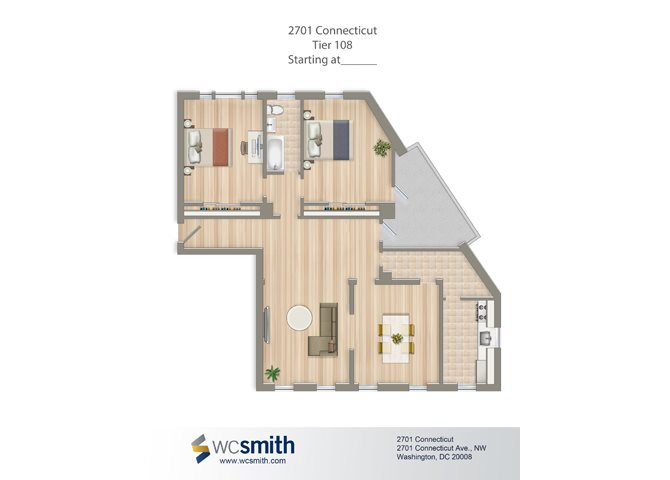 1667-square-foot-two-bedroom-apartment-floorplan-available-for-rent-2701-Connecticut-Avenue
