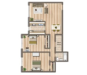 975-square-foot-two-bedroom-apartment-available-for-rent-Cambridge-Square-apartments