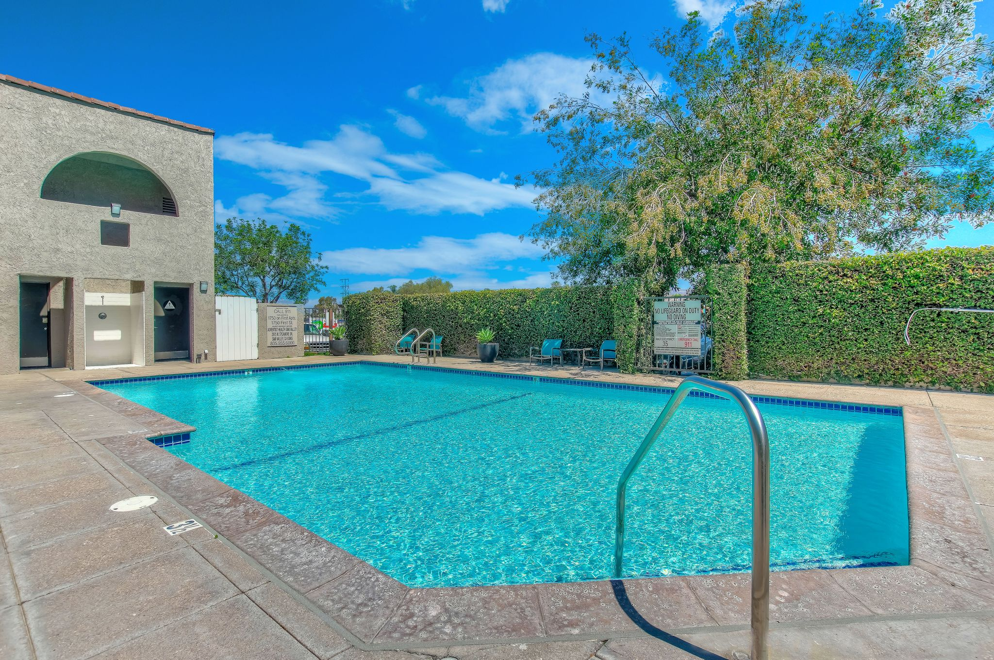 Sparkling Swimming Pool  at 1750 On First, Simi Valley