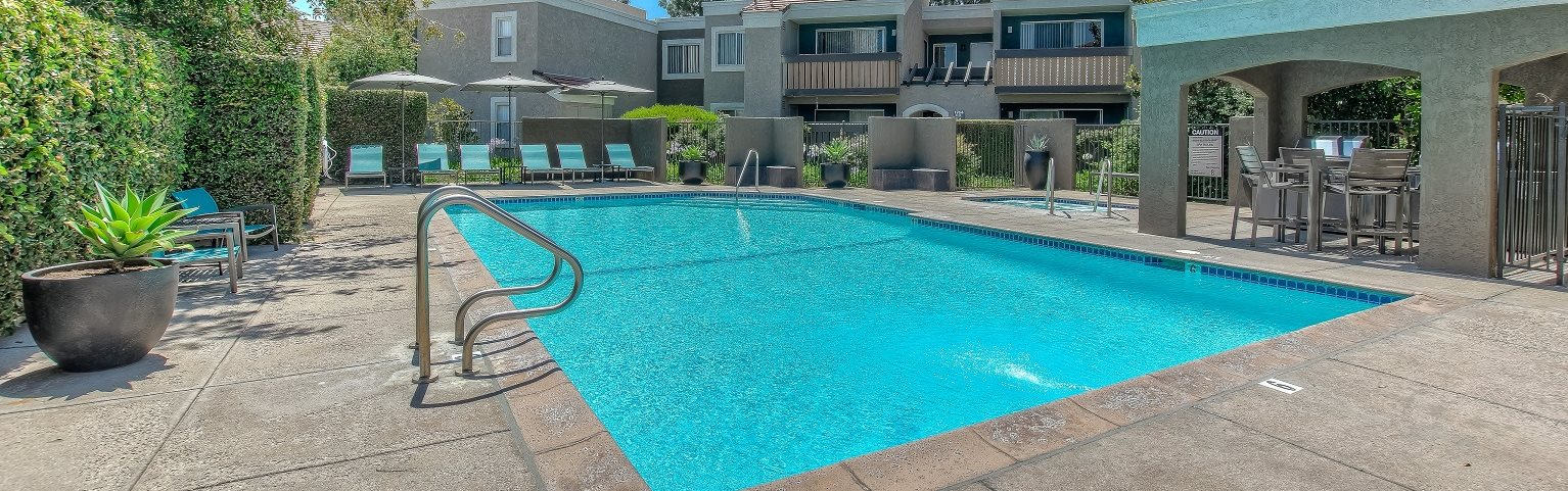 Swimming Pool at 1750 on First Apartments, in Simi Valley, CA