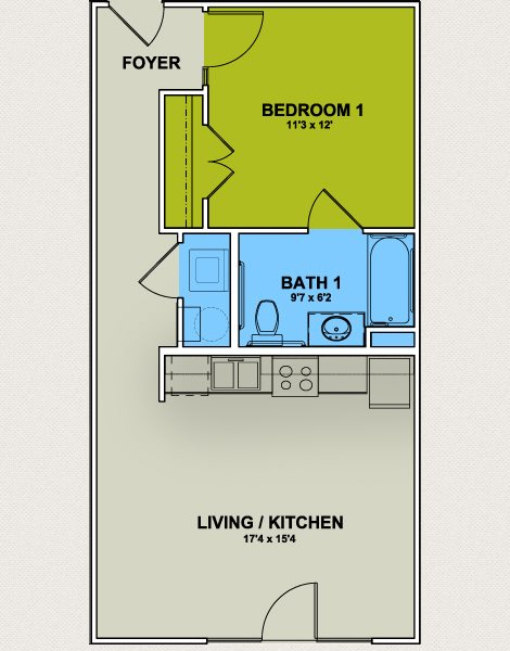 Floor Plans Of Greenway At Fisher Park In Greensboro Nc