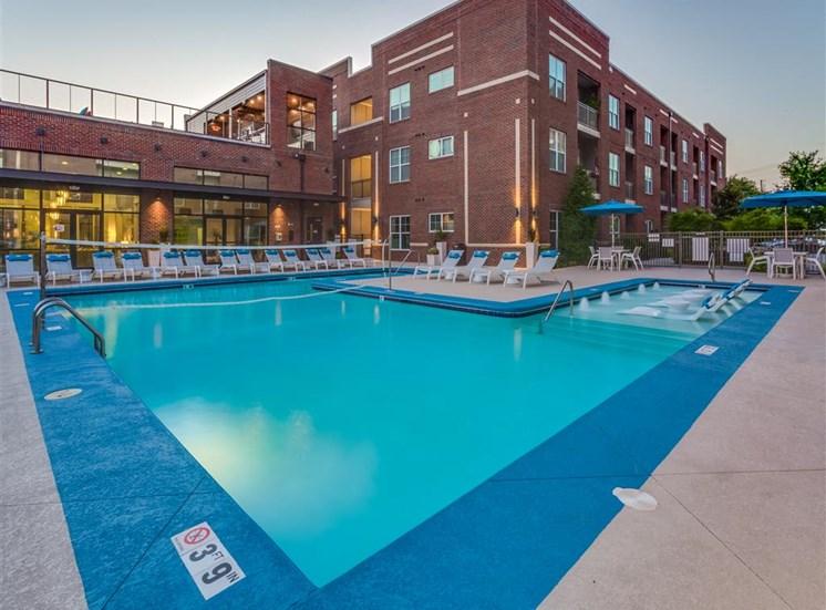 Outdoor Swimming Pool at Greenway at Fisher Park, North Carolina, 27401