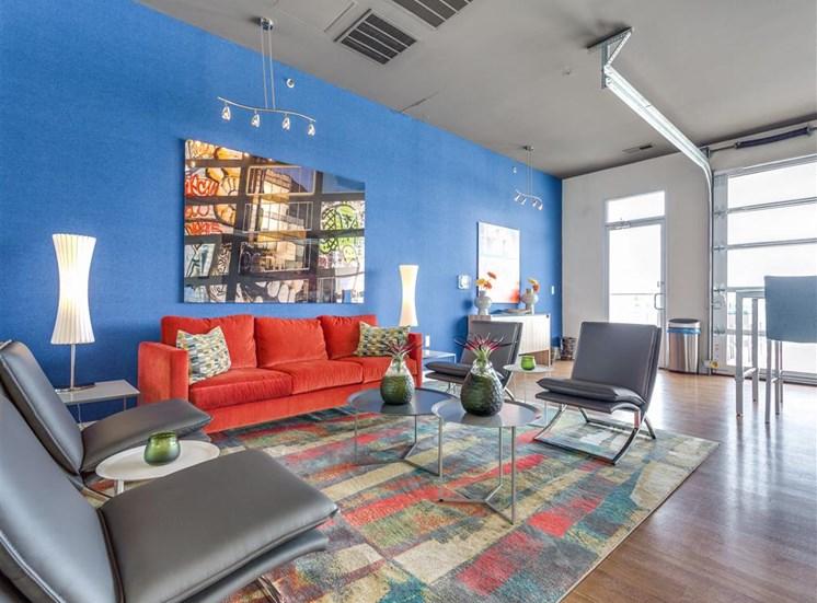 Resort Style Living Rooms at Greenway at Fisher Park, North Carolina, 27401