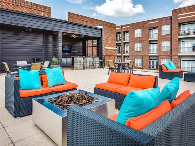 Rooftop Lounge at Greenway at Stadium Park, Greensboro, NC, 27401