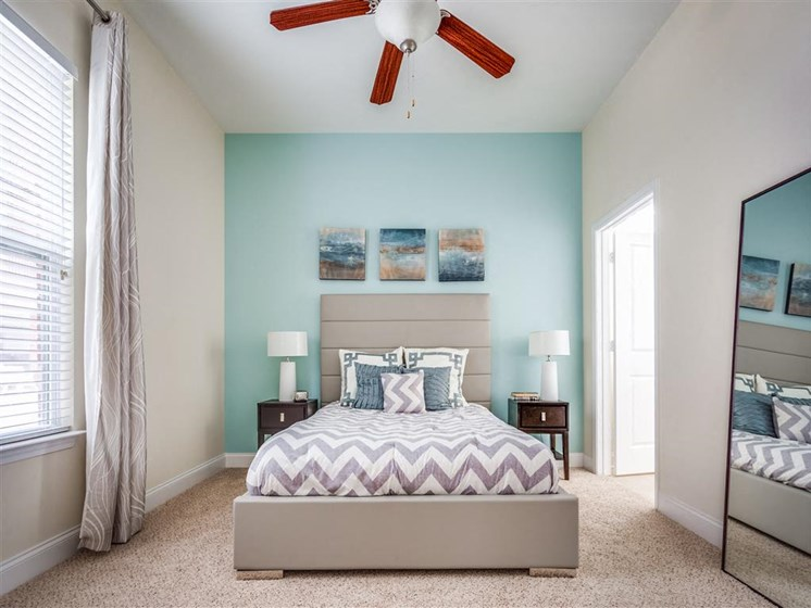 Beautiful Bright Bedroom With Wide Windows at Greenway at Stadium Park, Greensboro, NC