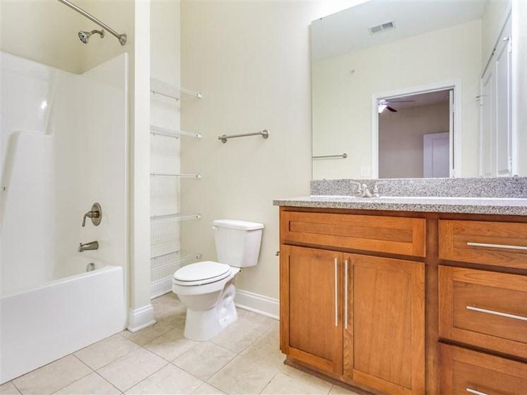 Luxurious Bathrooms at Greenway at Stadium Park, Greensboro