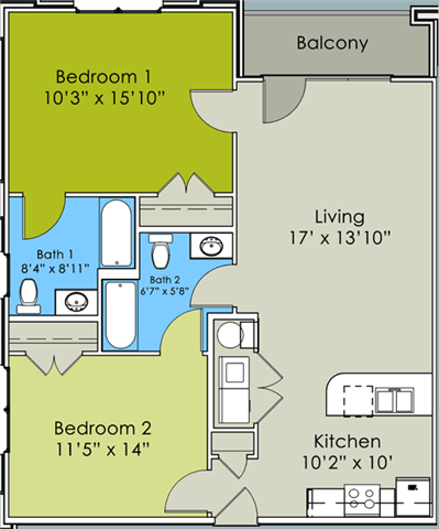 The Camden Floor Plan 2