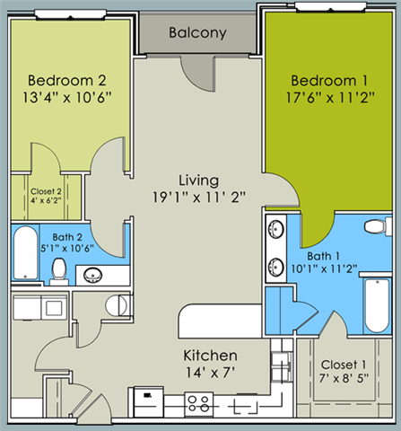The Wrigley Floor Plan 4
