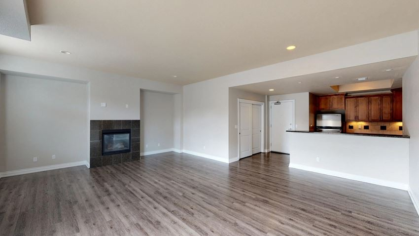 Open and bright floorplans