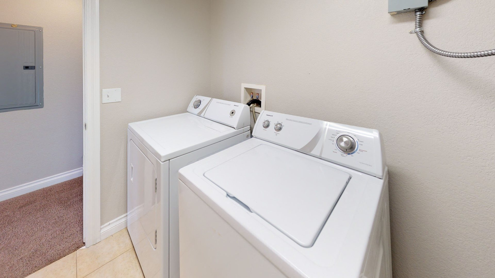 In-unit laundry facilities