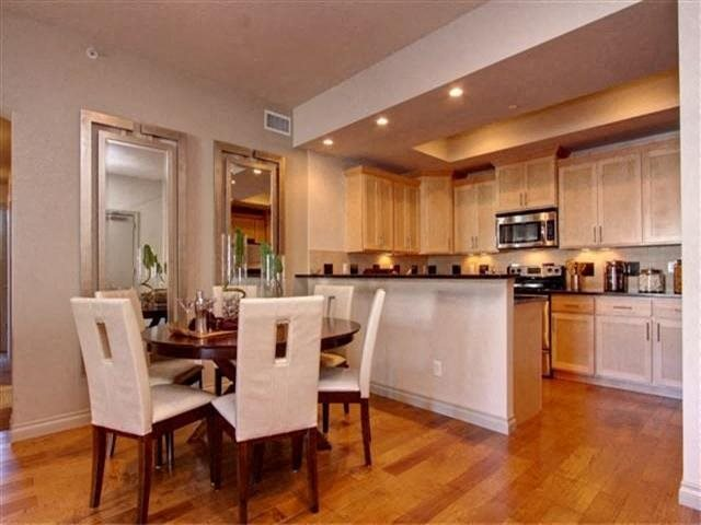 Modern Kitchens and Dining Area