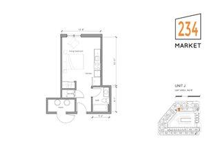 Studio Apartment Style J