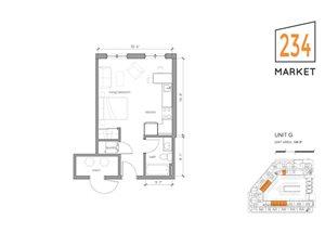 Studio Apartment Style G