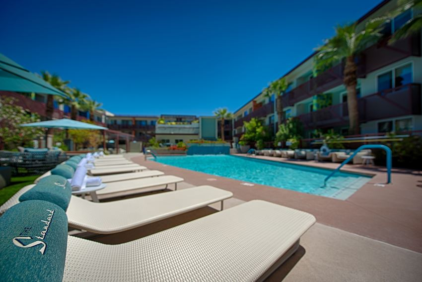 The Standard Apartments Pool