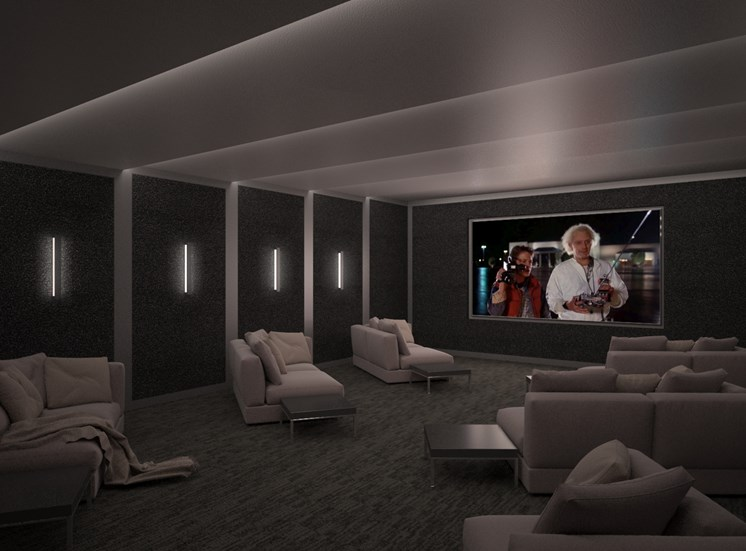 rendering-theater room