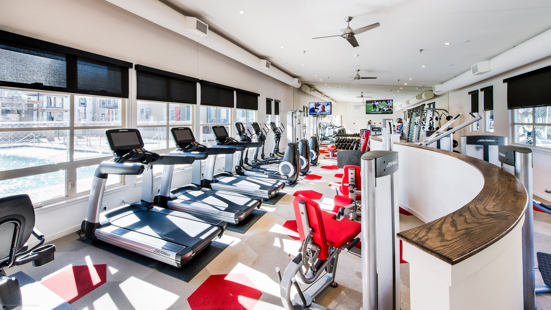 Fitness Center at 8000 Uptown Apartments in Broomfield, CO