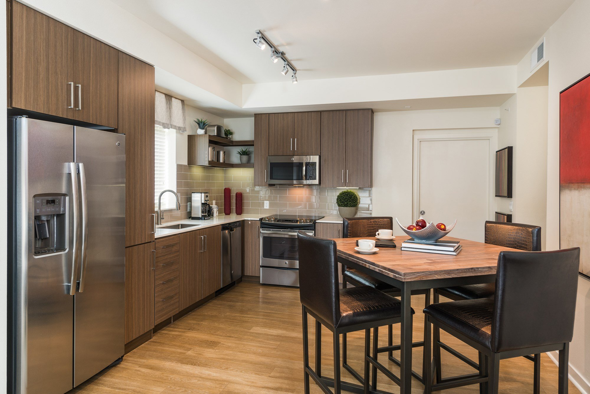 Spacious Kitchen at 8000 Uptown Apartments in Broomfield, CO