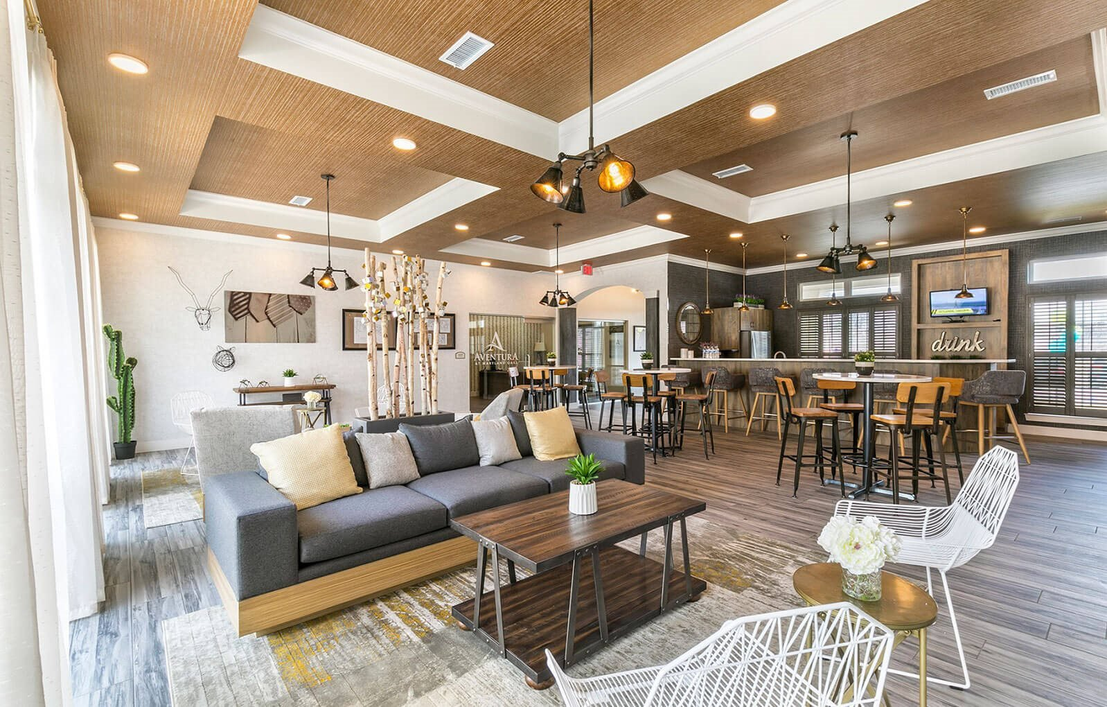 Resident Clubhouse at Aventura at Maryland Oaks